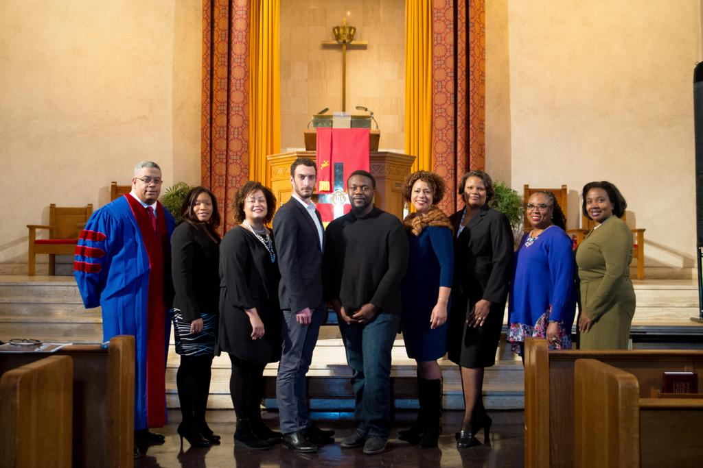 How one brooklyn church honors martin luther king jrs legacy photo of last years christfund awardees senior pastor christfund board members and grantees malvernweather Choice Image