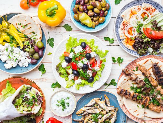 The six ingredients used in Greek food which could actually boost your health.