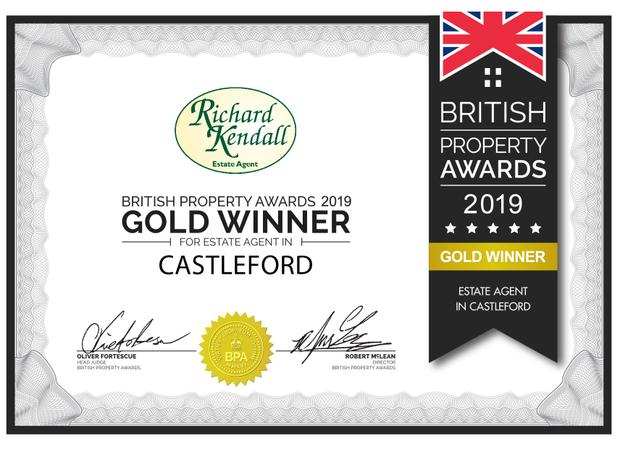 A Castleford estate agency is celebrating after being named the best in the area.